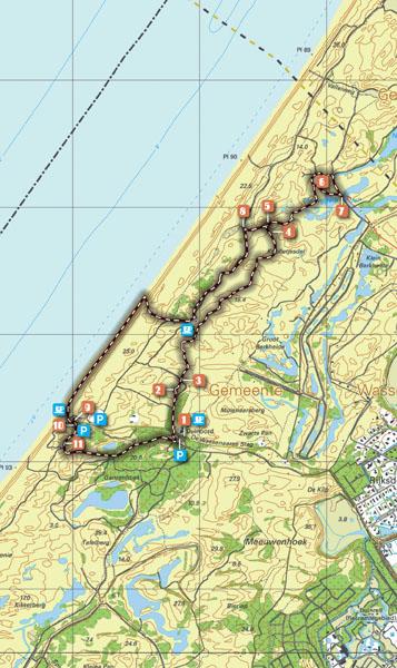 Routekaart Wassenaar