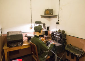 Radioruimte Atlantikwallmuseum Noordwijk